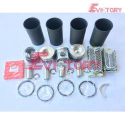 Pour Hino N04C N04CT reconstruire le segment de piston moteur Kit de roulement de joint de chemise