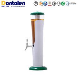 Dontalen los más populares bebidas Cerveza Agua vino accesorios de tubo de plástico de la torre móvil de la enfriadora enfriador dispensador de equipo