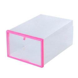 صندوق تخزين حذاء بلاستيكي قابل للطي PP قابل للطي