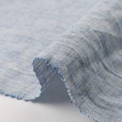 Garens Dye Chambray linnen stof voor Shirt L-0821