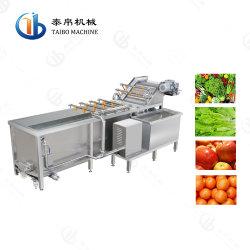 O SUS Industrial304 Frutas máquina de lavar para a fábrica