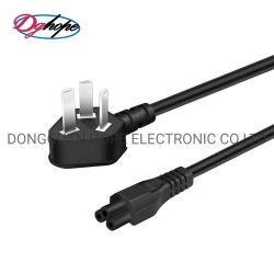 La aprobación de EE.UU. 2 Puntas 18AWG Impresora HP Samsung TV Cable de alimentación de CA para TV