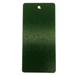 RAL 6001/6003/6037 Groene Wrinkle textuur Elektrische kast Poederverf Poeder Coating voor industrieel gebruik