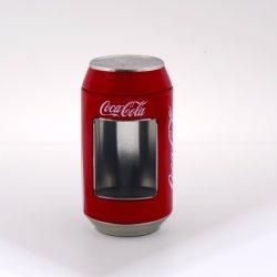 La coca-cola può tipo stagno della birra per i giocattoli della caramella del regalo cosmetici con la finestra libera