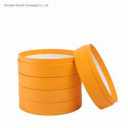 包装のペーパー管のためのカラーデザイン印刷を用いるカスタマイズされたリサイクルされた灰色のペーパー