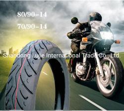 70/90-14 80 / 90-14 70 / 90-17 OEM 신규 8pr 6pr Llantas TT TL 천연 고무 휠 스쿠터 세발자전거 Tubeless Racing Motorcycle Tire/Tire with ISO CCC ECE 도트