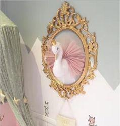 Розовый утка и оленей Настенные часы искусство украшения для дома