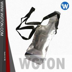 Motorola 、 Kenwood 、 Icom 、 Baofeng 、 Wouxun 用の Walkie Talkie 防水 Rainproof バッグケースポーチホルダ、 ミッドランド双方向無線機クリアホワイト 2 パック