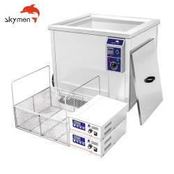 360L Industrial nettoyeur ultrasonique pour voitures de pièces de moteur d'aéronefs Échangeur de chaleur de nettoyage à ultrasons de la crépine du filtre à l'élément de bain de lavage