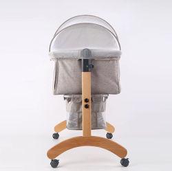 BabiesのためのブナWood Ployster Baby Cot /Swing Online Cradles