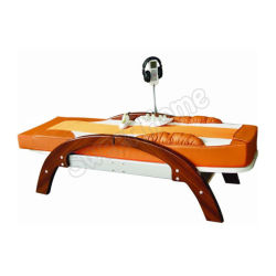 Groothandel Electric Full Body Automatische Thaise Shiatsu Far infrarood verwarmd Jade Stone Table de Massage met muziek