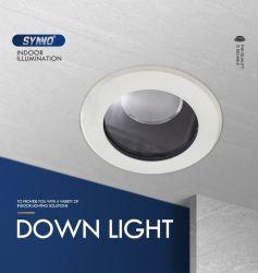 تصميم جيد gimbal مجوف LED جبل السقف ضوء علامة تجارية COB مصباح LED بقدرة 12 واط