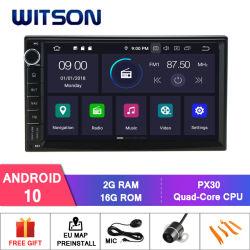 Speler Bluetooth van 10 Auto DVD van Witson de Androïde Radio voor AudioGPS van het Voertuig van Nissan Multimedia