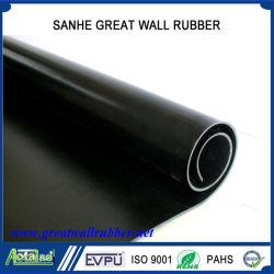 Brandwerend Flame Retardant Neopreen Black Rubber Sheet