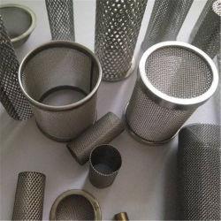 Os cilindros do filtro de malha metálica / Tubo de Filtro