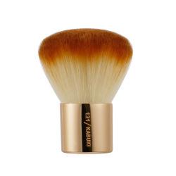 1pcs profesionales de belleza facial de lujo precio de fábrica de herramientas de gran tamaño personalizado único en polvo suelto Blush Brush Kabuki de alta calidad