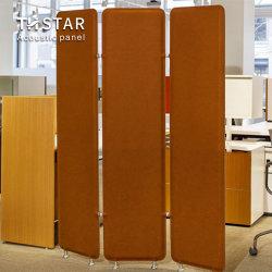 Th-Star Schallabsorption Büro Dekoration Raum Trennwand Akustische Paneele