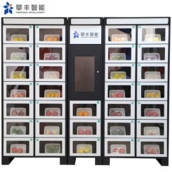 Autoservicio de alta calidad máquina expendedora de verduras frescas inteligente