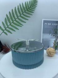 メーカーは創造的な水晶ガラス Ashtray の人格ハンドメイドのガラスの蝋燭の Holderglass の装飾ガラスのウェアを制作する。 ガラス製収納スペース