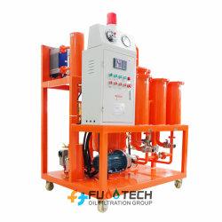 فلترة الزيت الهيدروليكي باستخدام آلة تنقية الزيت زيت الماكينة ماكينة فصل المياه