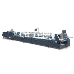 Het volledig Automatische Vakje die van het Document van de Hoge snelheid het Product maken die van het Document van Machines Machines maken