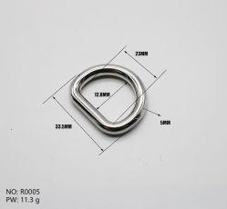 7 점 둥근 선 D-환형물, 수화물 아연 합금 D-환형물, 기계설비 부속품 금속 반지
