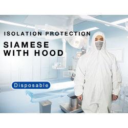 Epi de corpo inteiro de uma peça fatos-macaco de protecção de segurança à prova de Vestuário Vestuário antivírus