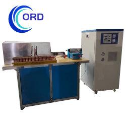 ماكينة تسخين حثّ سعر المصنع للتدفئة لصناعة القطع الساخنة من فورناس إلى المطرقة، قضيب فولاذي / لفة وقطع معدنية أخرى (MF-160KW)