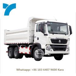 سينوتروك 6X4 336 371 10 عجلات 12 عجلات 40 طن راقص مرفق شاحنة التفريغ Sino 375HP 380 HP HOWO Dumper