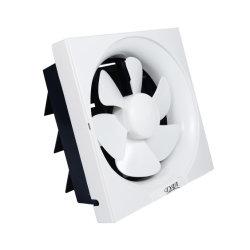Square ventilateur d'évacuation plastique complet de la moitié en plastique avec moteur double roulement à billes