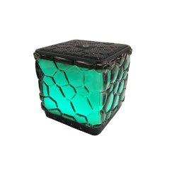 سماعة صوت Bluetooth® لاسلكية ملونة جديدة مع ضوء LED للكمبيوتر أو الهاتف المحمول