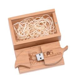 محرك أقراص USB محمول من نوع Wooden Leaf محرك أقراص شعار مخصص مجاني ذاكرة الهدايا المبتكرة Stick PendroDrive سعة 8 جيجابايت و32 جيجابايت