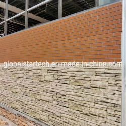 Hitte van de Bakstenen muur van het Comité van de Muur van het Schuim van Pu 3D/Koude Isolatie