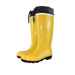 Men를 위한 Cord를 가진 Rain 방수 Boots PVC Safety Boots