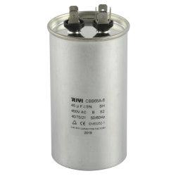 エアコンのためのCbb65 45UF 450Vモーター実行コンデンサー