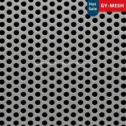 장식용 메시 벽을 위한 PVDF 파우더 코팅 Perforated Metal Sheet 천장 메시 시트