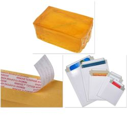 Premium Kaltbeständigkeit Poly Plastic Paper Bubble Courier Bag Mailer Umschlag Schmelzkleber