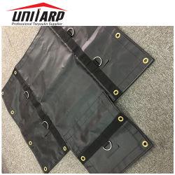 Folha de plástico flexível impermeável 1000d*1000d 18oz lona revestida de PVC máquina &abrange Lumber Tarps do Reboque