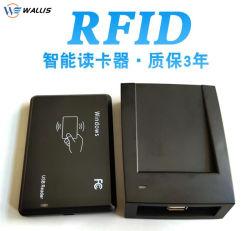 De dubbele van de Frequentie 125kHz USB RS232 Lezer van Keyfob van de Markering van het rfid- Identiteitskaart met 8/10 van Cijfers voor Tk4100/Em4100/Em4200/Em4305/T5577