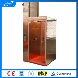 Qiyunの工場価格(OEM ODM) 300kg 3mの世帯のエレベーターの容易なインストールホームはホーム使用のための油圧別荘のエレベーターを持ち上げる