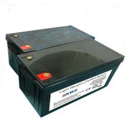 Электродвигатель жилого прицепа для мобильных ПК LiFePO4 литиевая батарея 12V 200Ah мощность кемпинг на лодке жилого прицепа