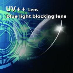 На складе Cr39 1,56 УФ420 Синий индикатор фильтра линзы в офтальмологии очки линзы оптических