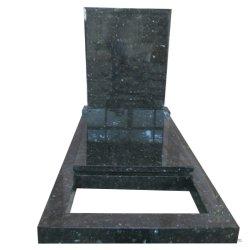 Европейского типа польский пустым памятник вырезом Gravestone с крышкой слоя