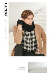 Lenço de moda, feitas de acrílico, de algodão e poliéster, lã, Royan, baixa quantidade mínima de 5
