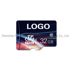 El color de moda Imprimir TF tarjeta SD 8GB 16GB 32 GB 64 GB con su logotipo