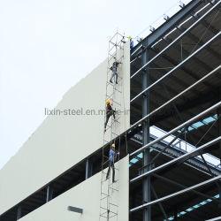 重いプレハブの建物の記憶は鉄骨構造のフレームによって覆われた鋼板を取除いた