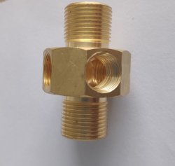 Soem maschinell bearbeiteter maschinell bearbeitender hydraulisches Übergangs-Systems-anschließenkopf