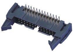 connettore dell'intestazione dell'espulsore del connettore del PWB del connettore delle intestazioni del fermo di 2.54mm, tipo di SMT