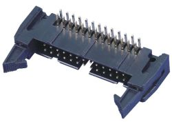 2.54mm 래치 머리말 연결관 PCB 연결관 이젝터 머리말 연결관, SMT 유형