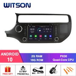 Четырехъядерные процессоры Witson Android 10 DVD GPS для KIA Рио 2015 встроенный модуль WiFi